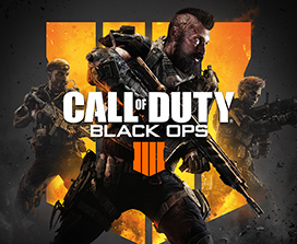 Logotipo de Call of Duty: Arte de portada de Black Ops 4