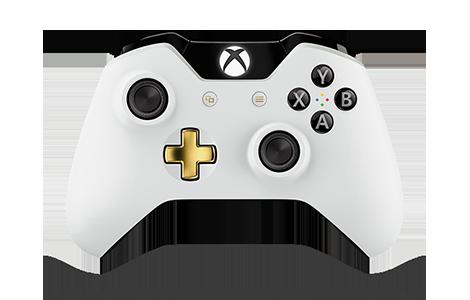 Control inalámbrico edición especial Lunar White para Xbox One