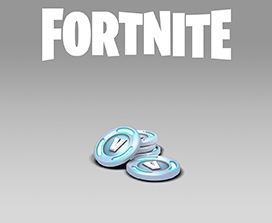 Fortnite, A small pile of coins with V on them