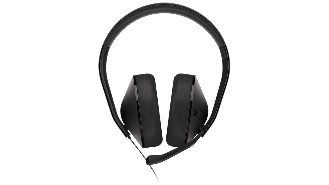 Stereo Headphones front mic down