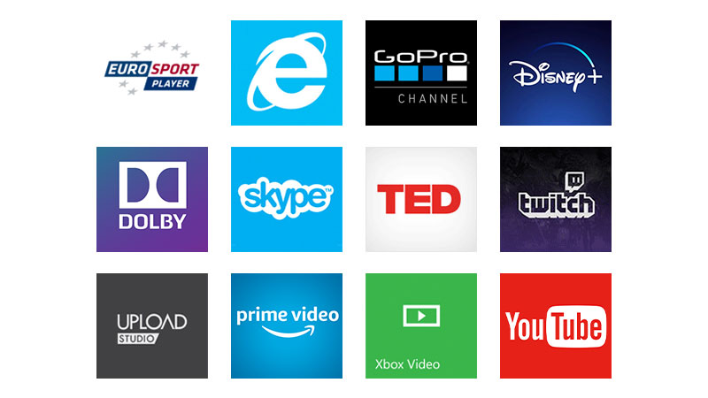 Get access to hundreds of apps and services on your Xbox: films, music and gaming.