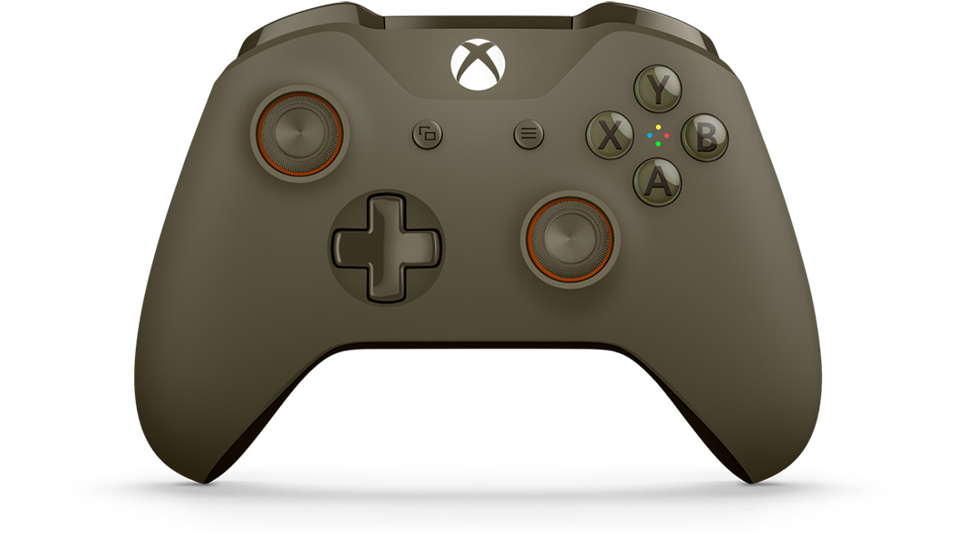 Green Orange Controller von vorn