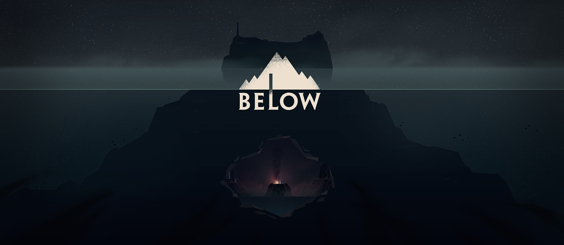 Island and Below-logo