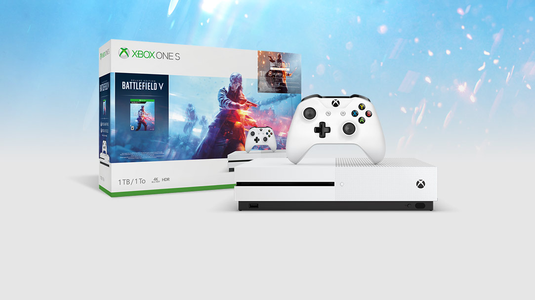 vue de l'ensemble Battlefield™ V pour Xbox One S (1 To)