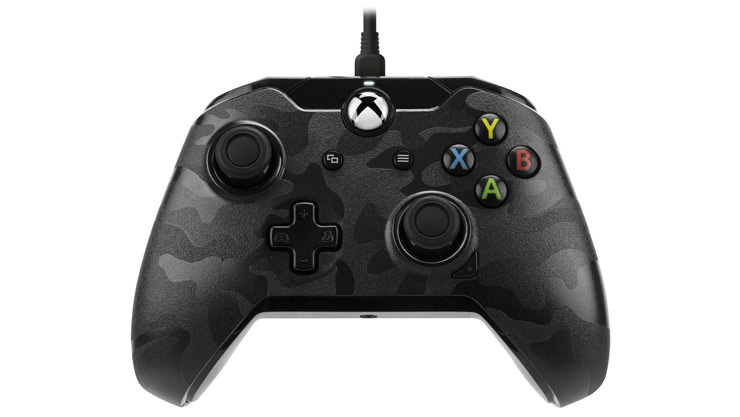 Xbox One Accessories. Pdp Wired Controller For Xbox One Camo. Wiring. For Xbox 360 Controller Wire Diagram At Scoala.co