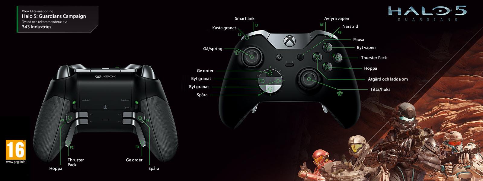Halo 5: Guardians – Elite-mappning för kampanj