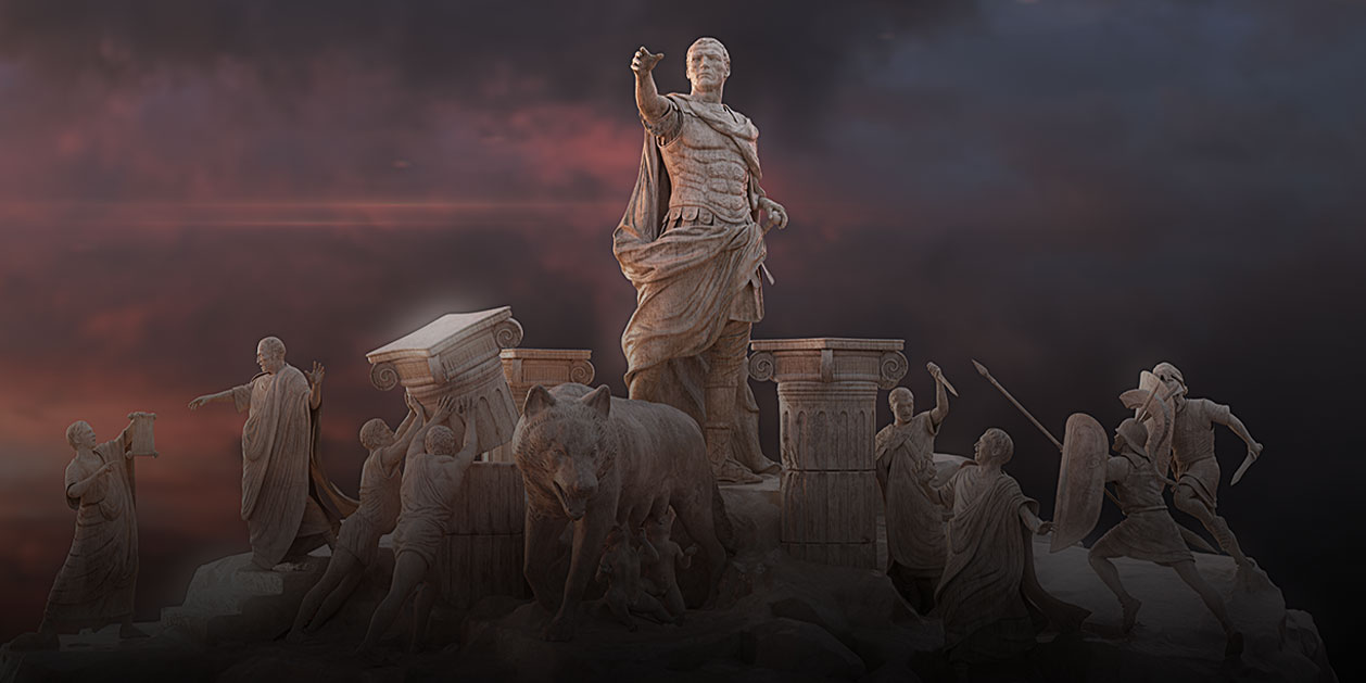Game-art van Imperator Rome