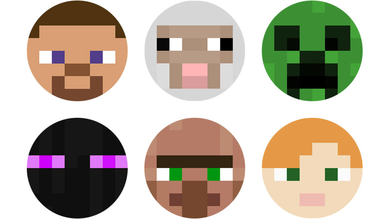 Minecraft Player Icons