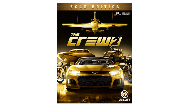 Crew 2 Gold Edition box shot