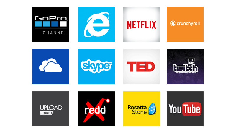 Collage of Xbox Apps
