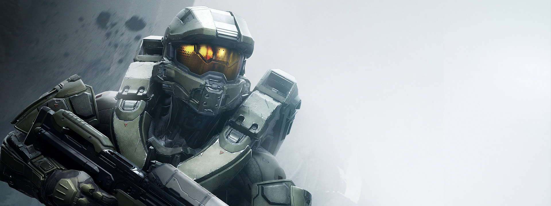 Front view of master chief Halo spartan
