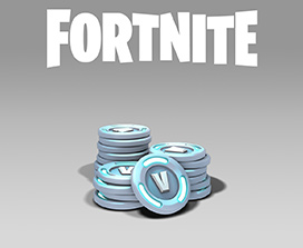 Fortnite, A medium pile of coins with V on them