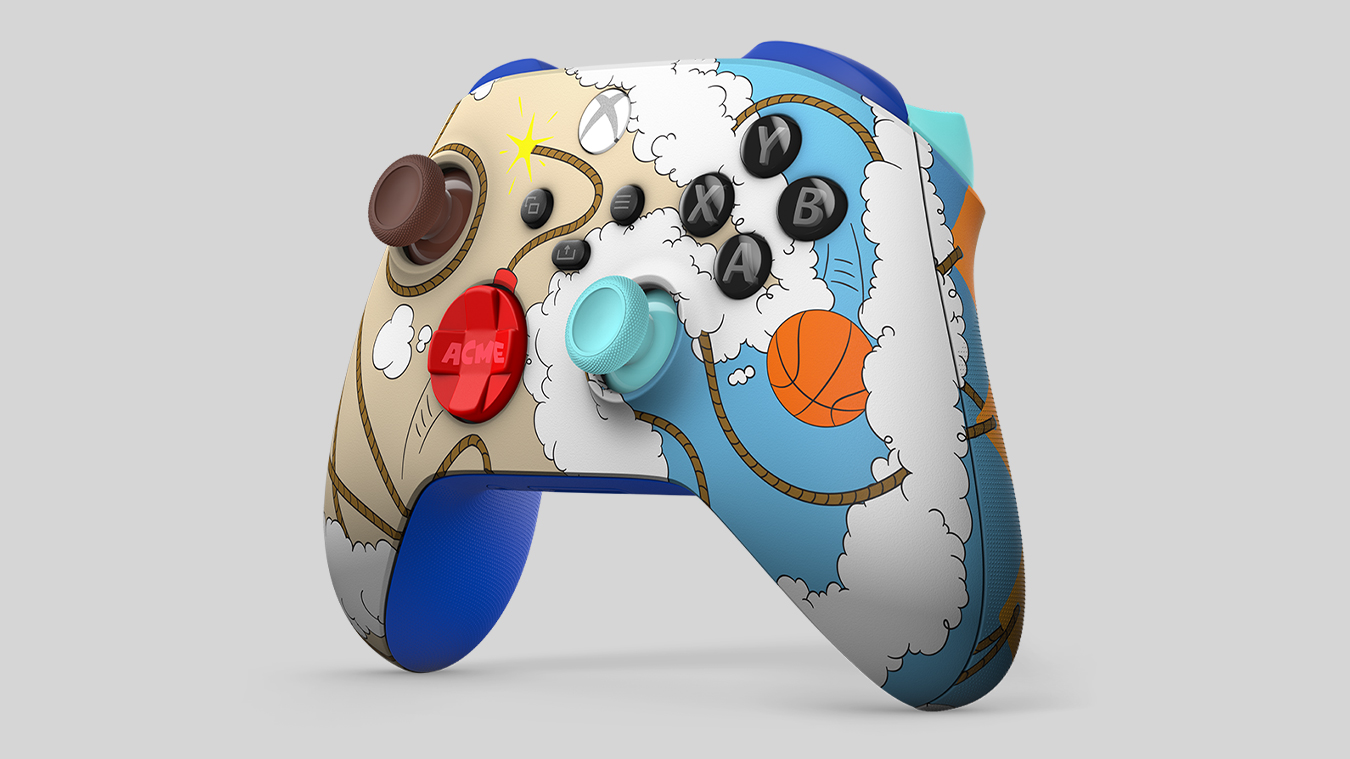 Space Jam A New Legacy  Road Runner vs. Wile E. Coyote Exclusive Edition Xbox Wireless Controller, with Wile E. Coyote and the Road Runner