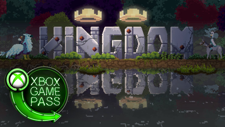 Kingdom game graphics with the Xbox Game logo
