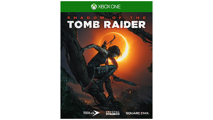 Shadow of the Tomb Raider-coverbillede