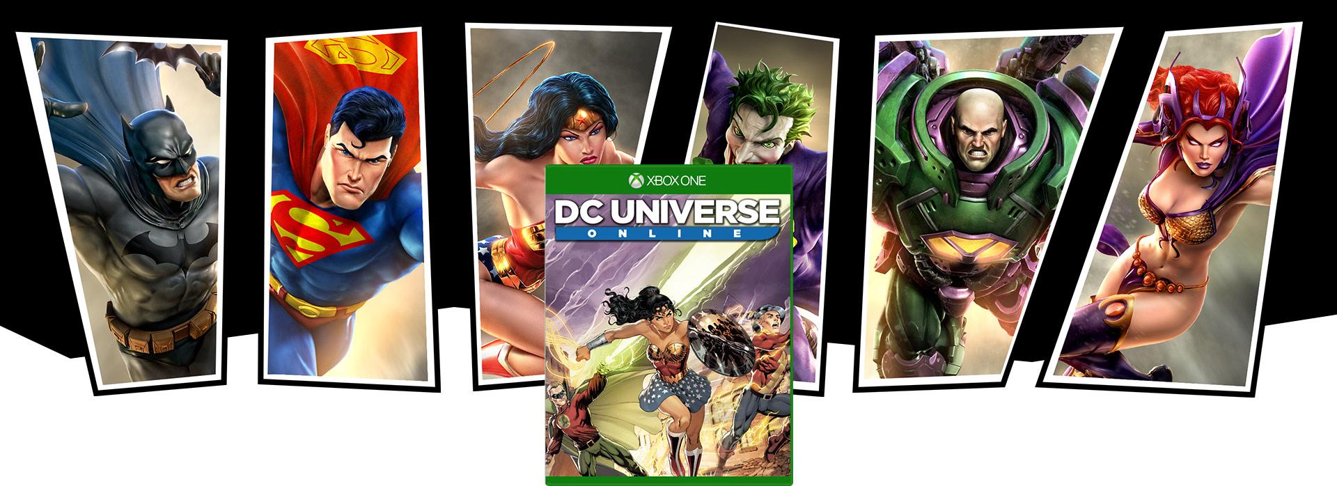 DC Universe Online -pakkauksen kansi