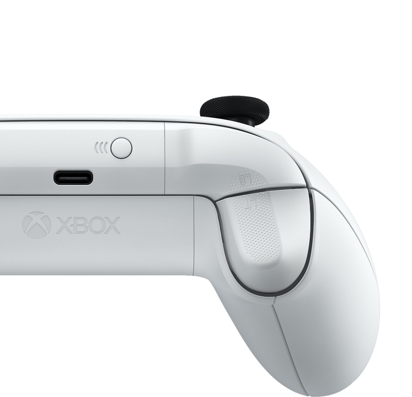 Texturierte Trigger am Xbox Wireless Controller