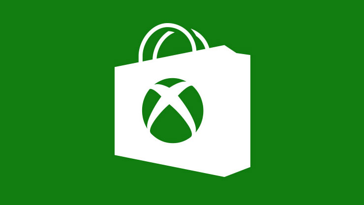 Shopping bag with an Xbox logo