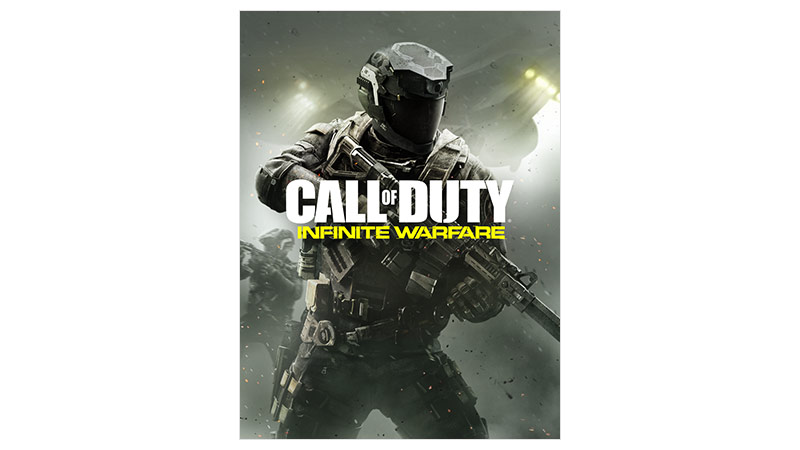 Image de la boîte de Call of Duty Infinite Warfare, édition standard