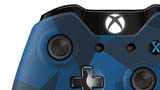 Special Edition Midnight Forces Wireless Controller close-up upper thumb