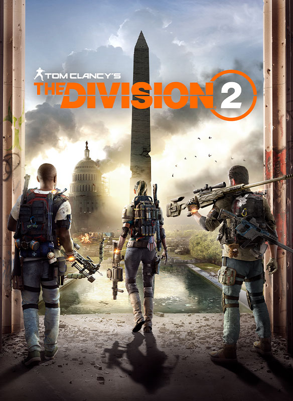 Imagem da caixa do Tom Clancy's The Division 2