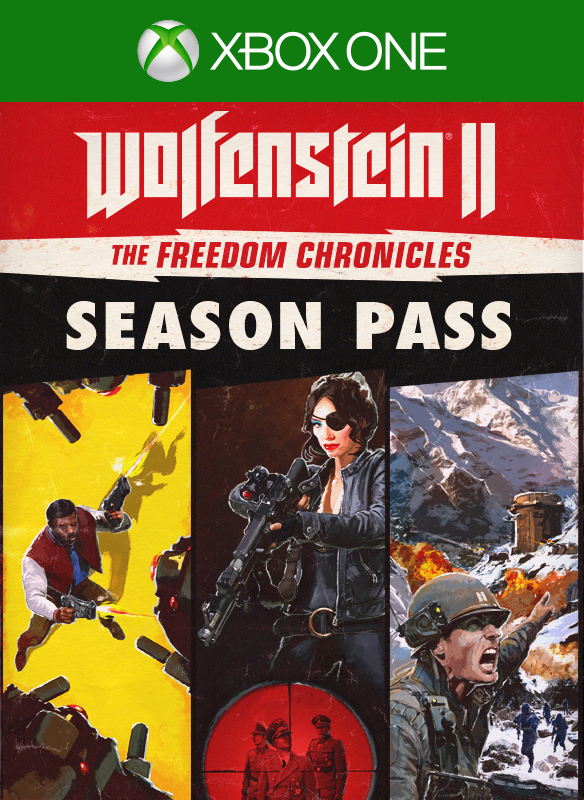 Wolfenstein® II: The Freedom Chronicles Season Pass