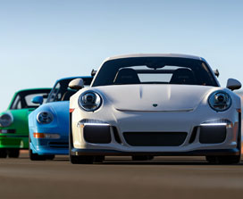 Collection de voitures Porsche pour Forza Horizon 3