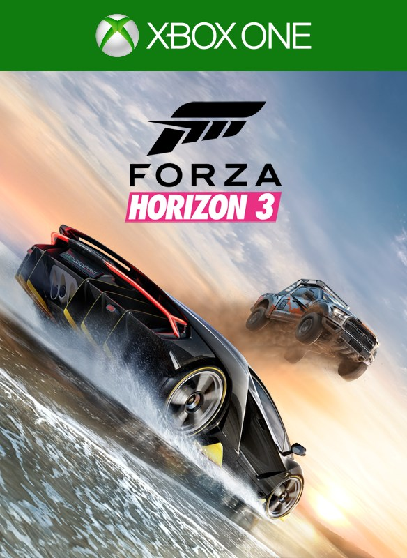 Forza Horizon 3 digital packshot