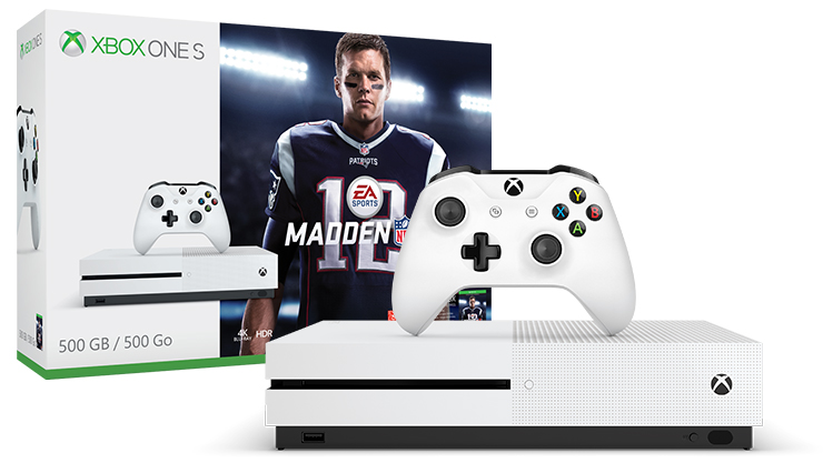 Pack Xbox One S + Madden NFL 18