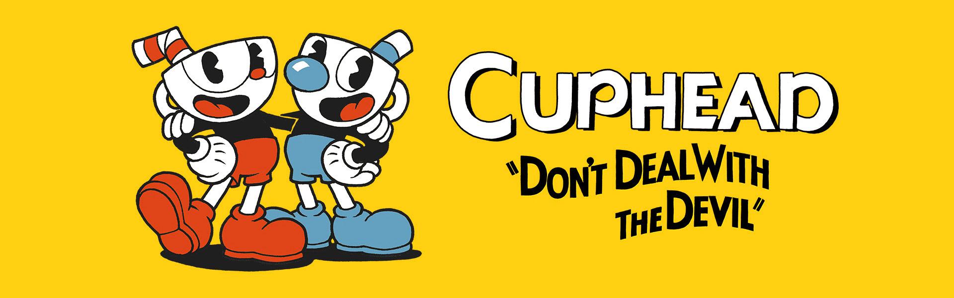 Cuphead, Don't Deal with the Devil, Капхед и Магмен улыбаются, обнявшись друг с другом