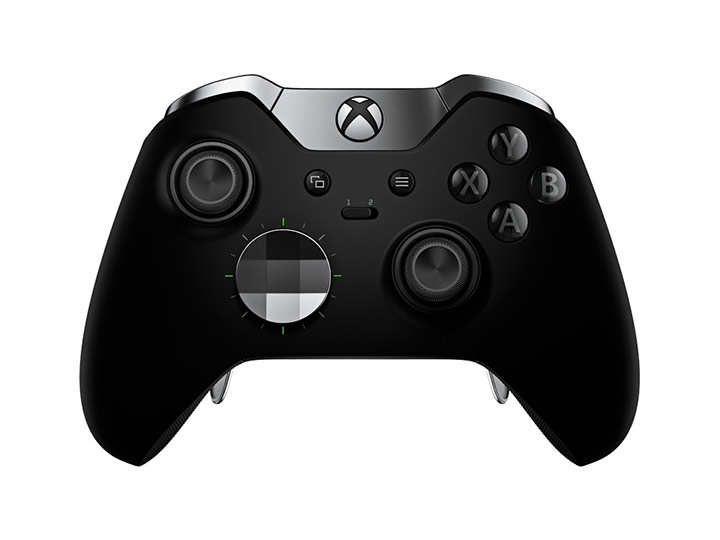 View of Xbox elite wireless controller