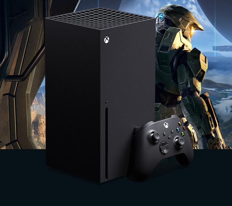 Console Xbox SeriesX più controller