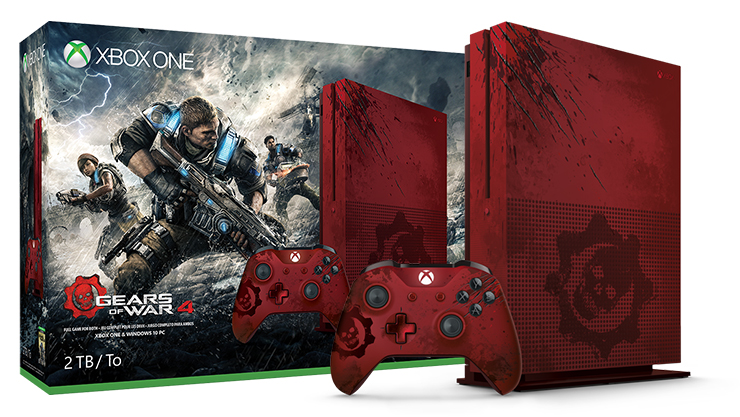 Paquete Gears of War 4 de 2 TB