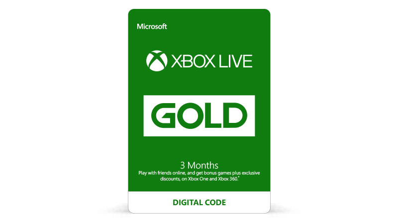 40% off Xbox LIVE 3 month subscription!