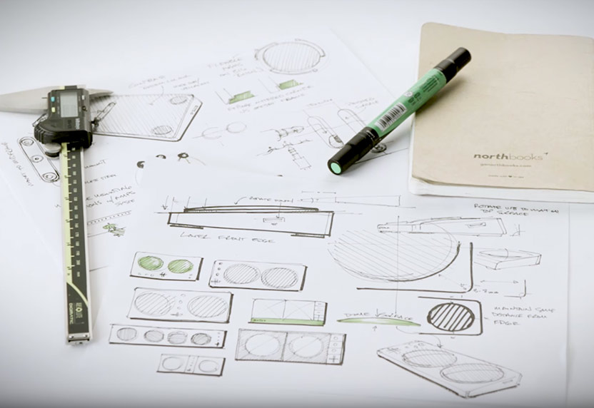 Rough sketches of the Xbox Adaptive Controller