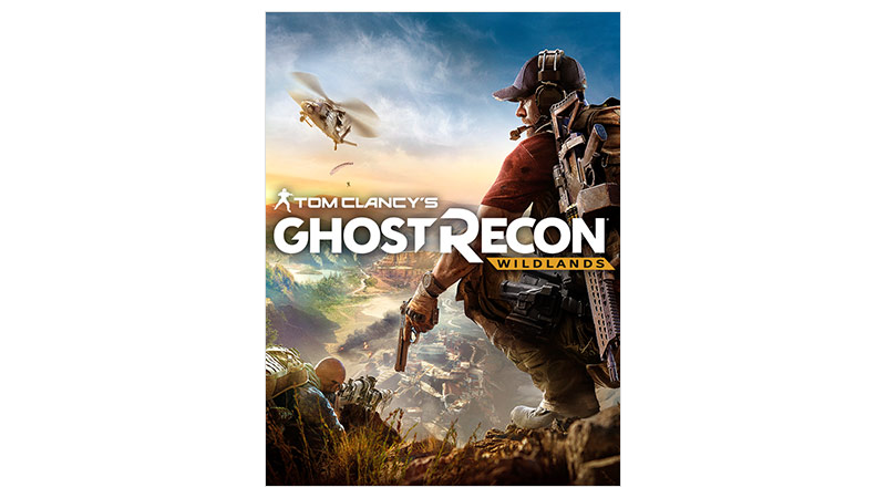 Imagem da caixa do Ghost Recon Wildlands Standard Edition