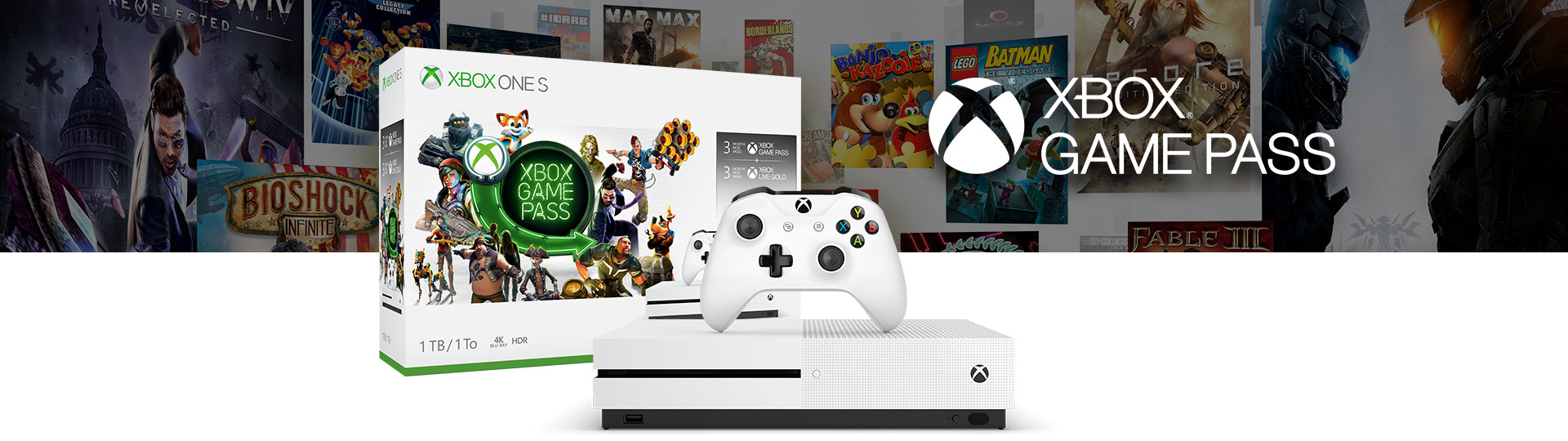 Xbox One S Starter Bundle (1 TB)