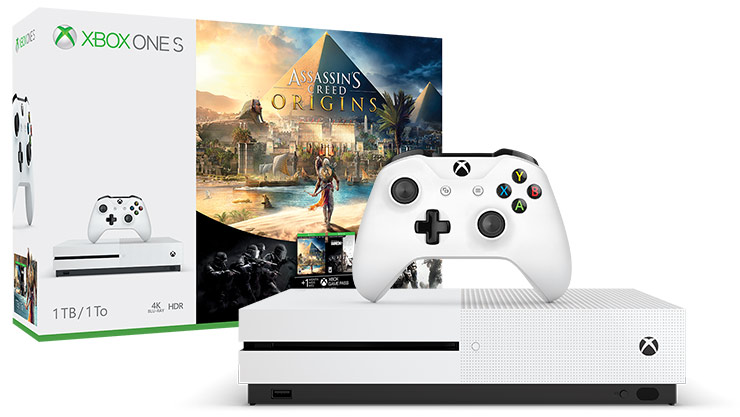 Pack Bonus Xbox One S (1 To) + Assassin's Creed Origins