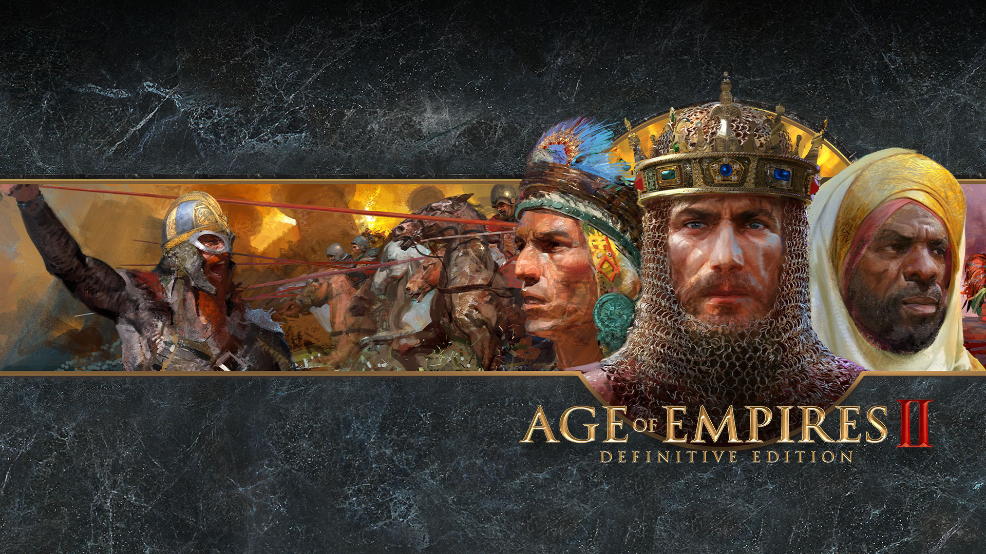 Age of Empires II Definitive Edition 標誌與交戰派系的藝術展現