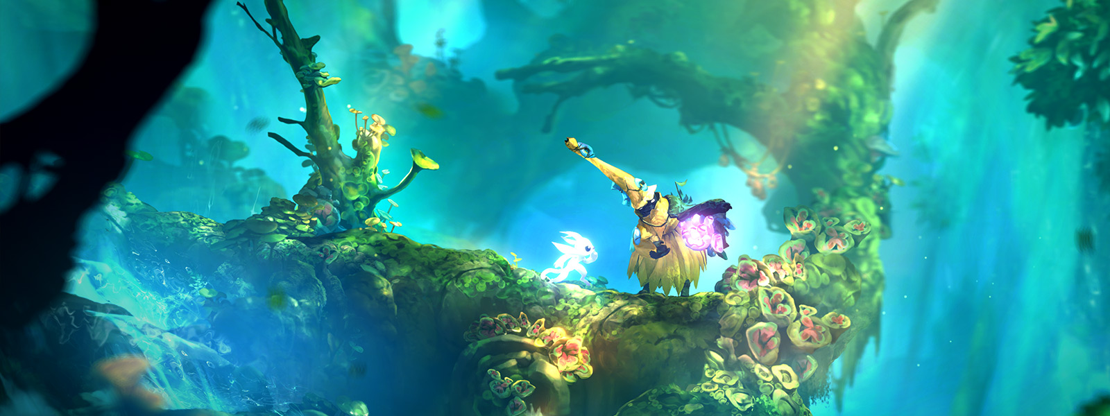Screenshot from Ori and the Will of the Wisps