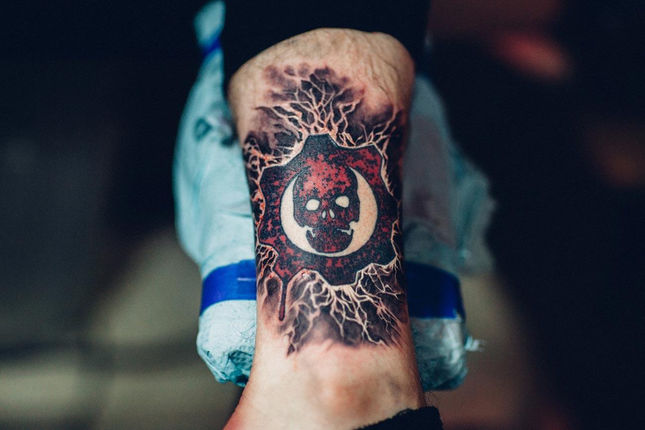 Beautiful Gears Of War Tattoo Photos - Styles & Ideas 2018 - sperr.us