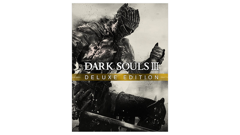 Box shot της έκδοσης Dark Souls 3 Deluxe edition