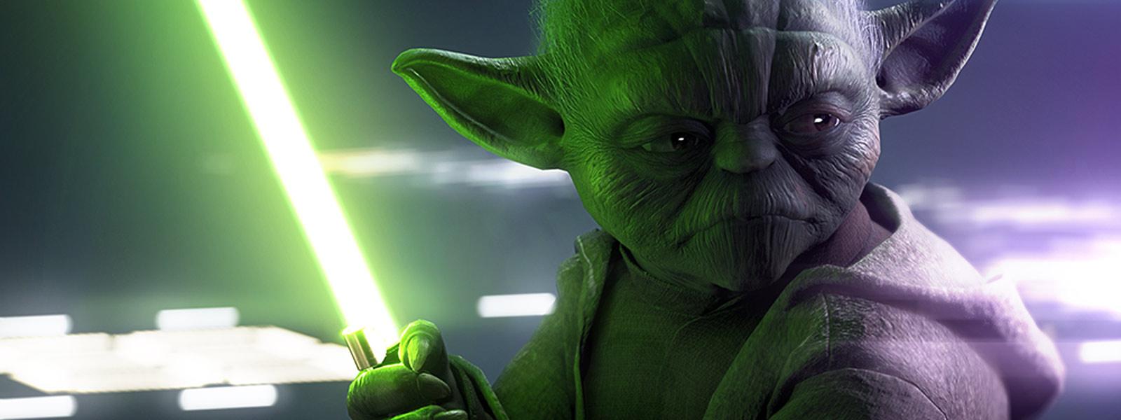 Carta de estrela do Yoda