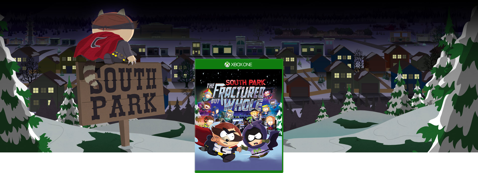 Image de la boîte de South Park: The Fractured But Whole