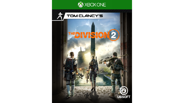 Tom Clancy's The Division 2 -pakkauksen kansi