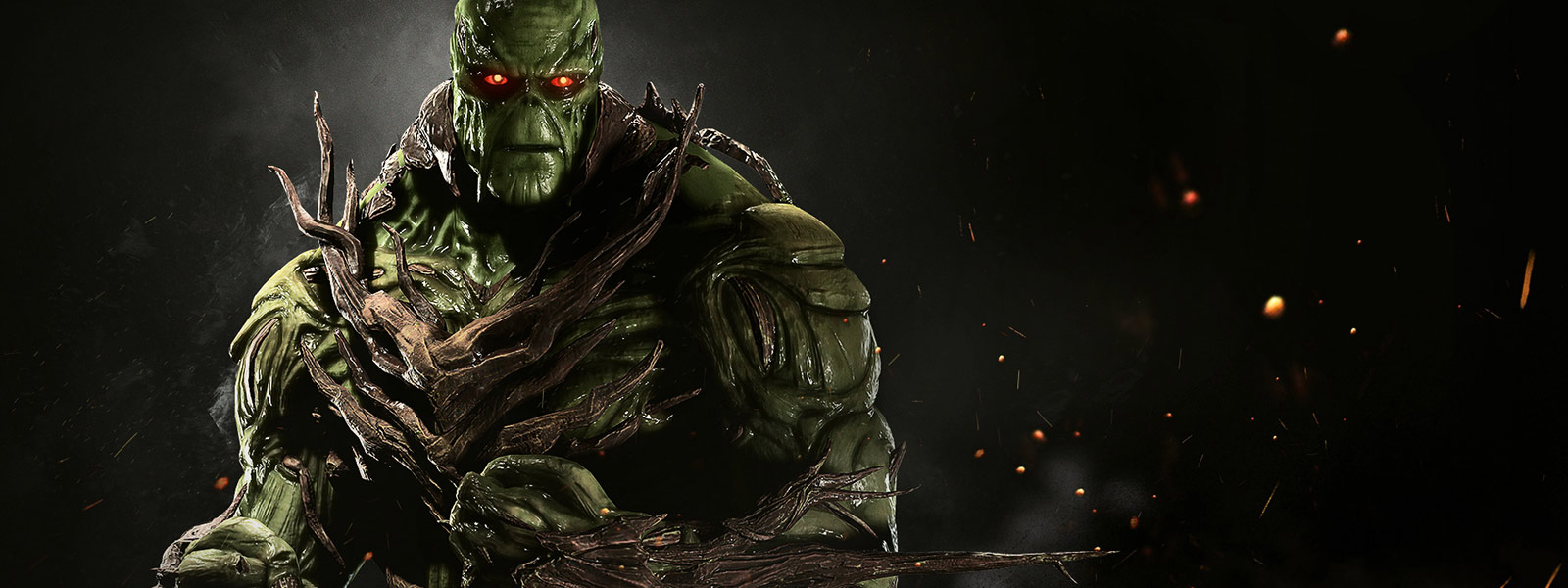 Swamp Thing dans Injustice 2