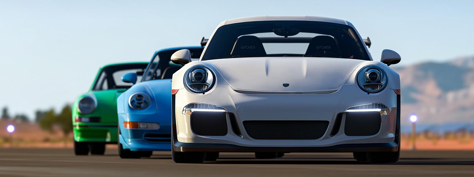 Paquete de autos Porsche