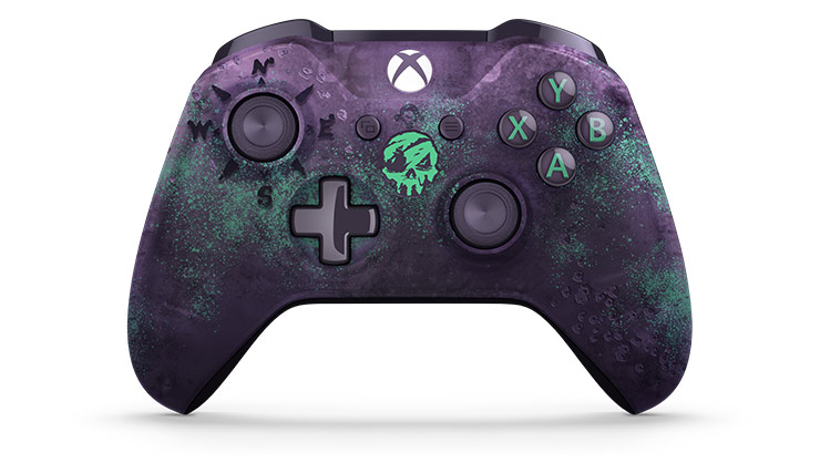 Home Design Xbox Part - 45: Xbox Wireless Controller - Sea Of Thieves Limited Edition