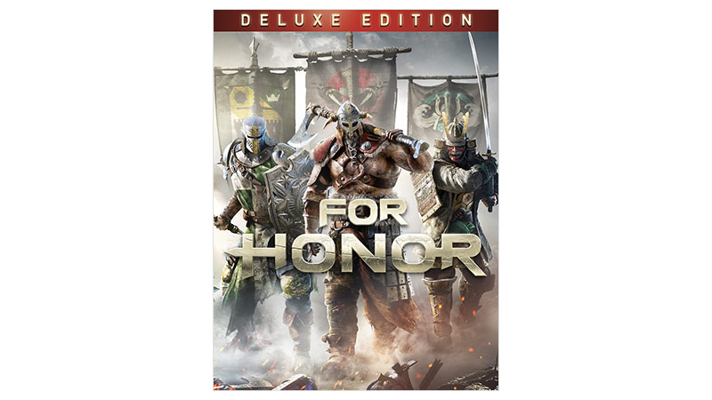 For Honor Deluxe Edition, bild på förpackning
