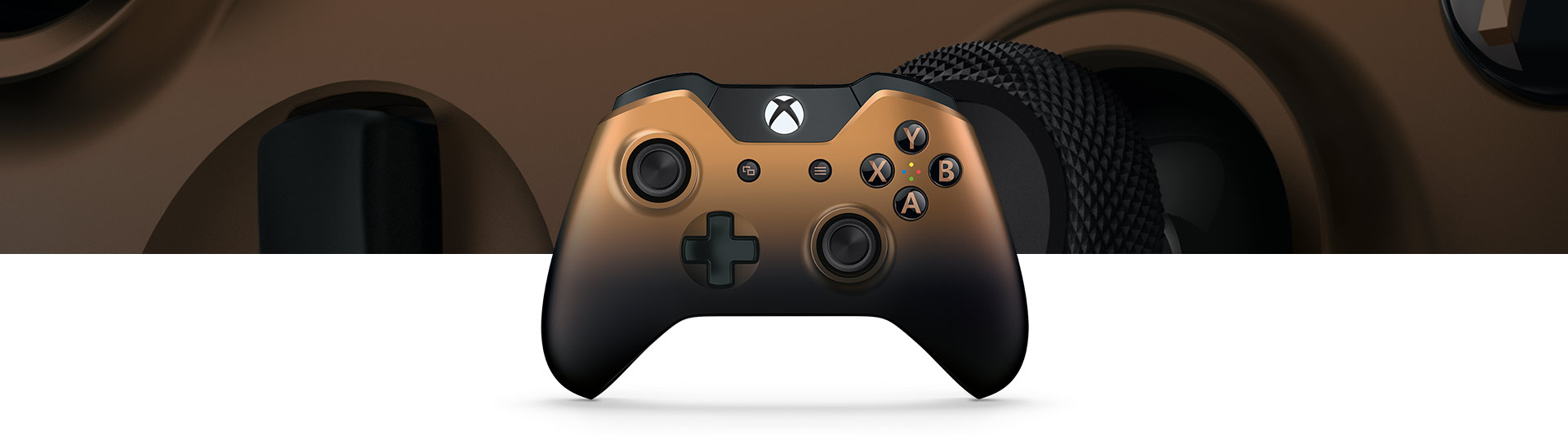 Manette Xbox One Wireless Controller Copper Shadow